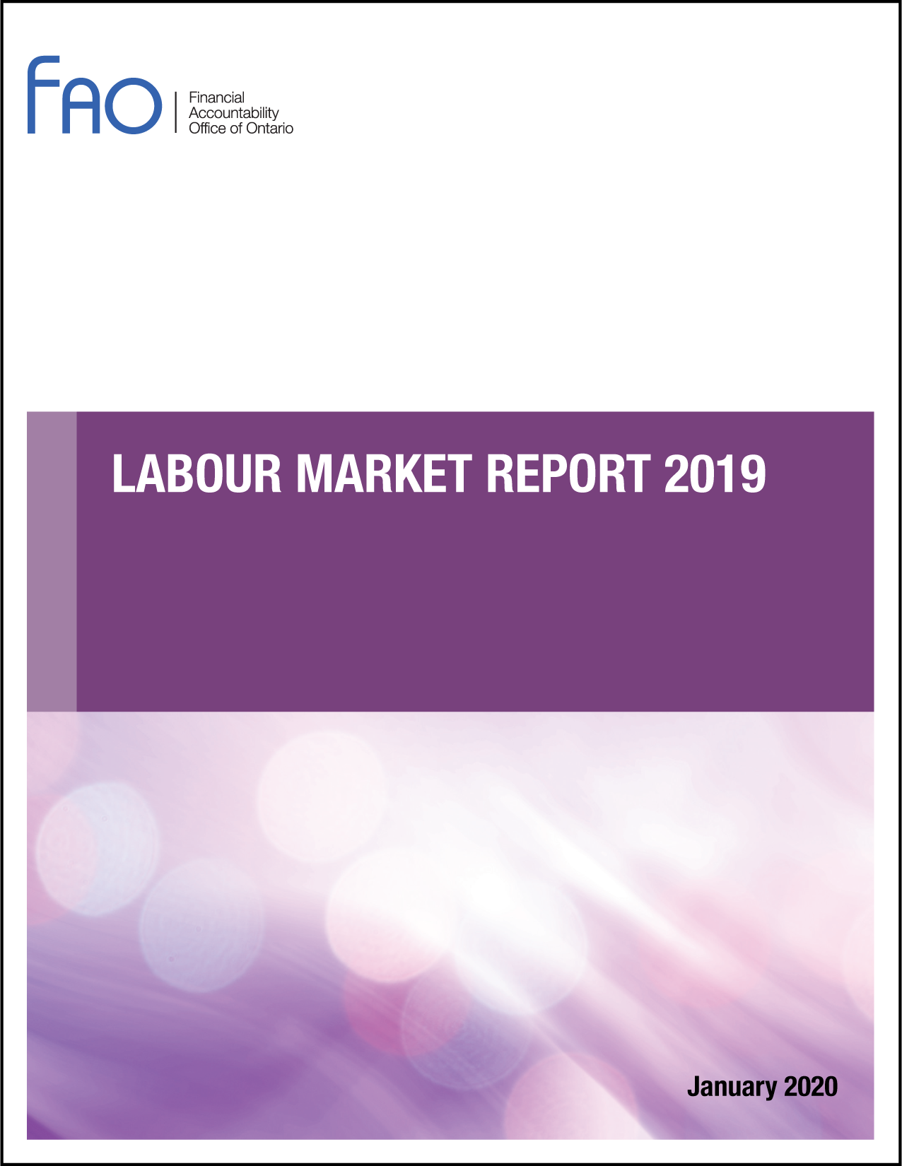 Labour Market Report 2019