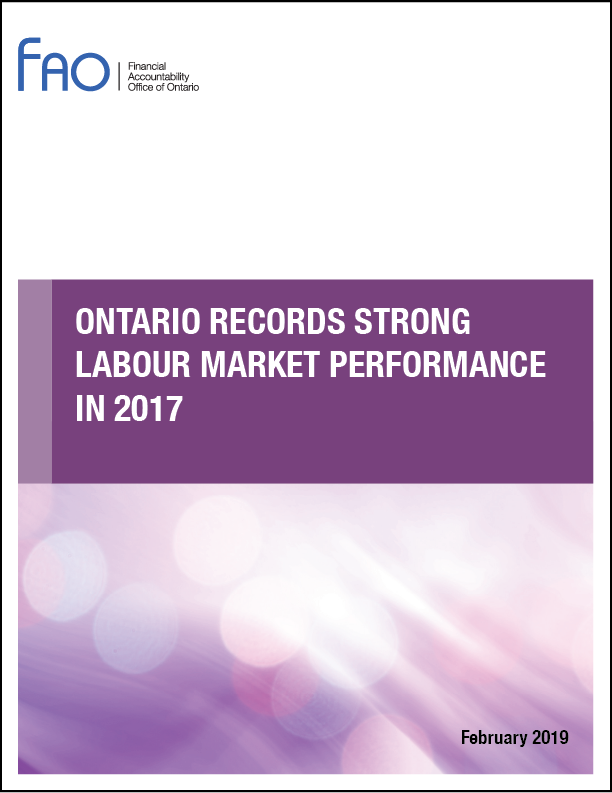 Ontario Records Strong Labour Market Performance in 2017
