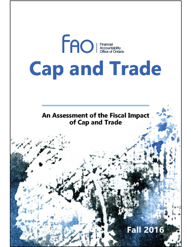 Cap and Trade: An Assessment of the Fiscal Impact of Cap and Trade