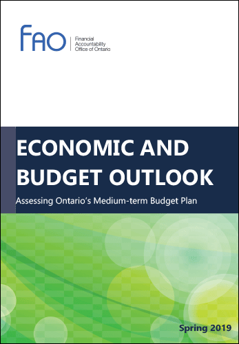 Economic and Budget Outlook, Spring 2019