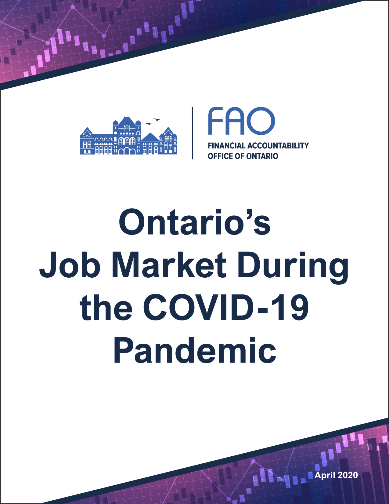Ontario's Job Market during the COVID-19 Pandemic