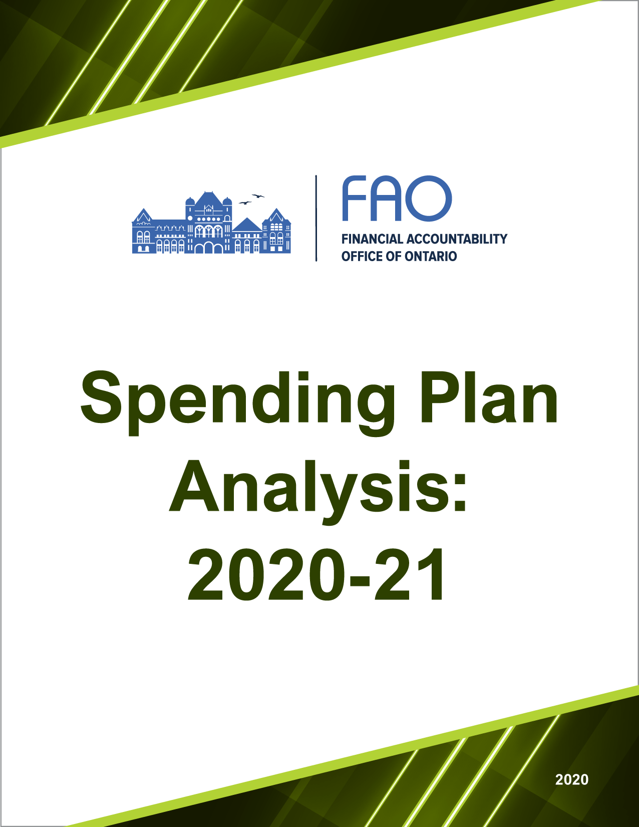 Spending Plan Analysis: 2020-21